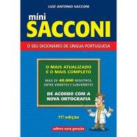Mini Dicion�rio Sacconi
