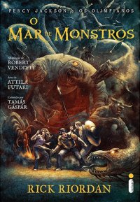O Mar de Monstros (Graphic Novel)