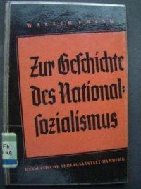 Zur Geschichte des Nationalsozialismus