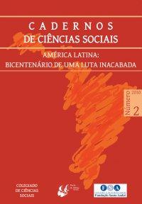 CADERNOS DE CIКNCIAS SOCIAIS 2