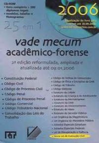 Vade Mecum Acadкmico-Forense