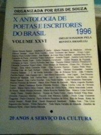 X antologia de poetas e escritores do Brasil