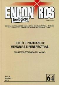 Encontros Teolуgicos 64 - Concílio Vaticano II: Memуrias e Perspectivas