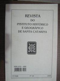 Revista do INSTITUTO HISTУRICO E GEOGRáFICO DE SANTA CATARINA