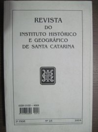 Revista do INSTITUTO HISTУRICO E GEOGRáFICO DE SANTA CATARINA