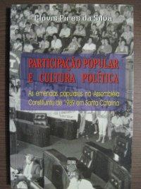 PARTICIPAçãO POPULAR E CULTURA POLíTICA