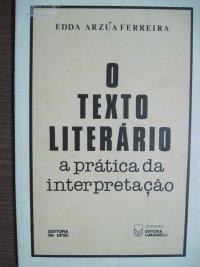 O TEXTO LITERáRIO