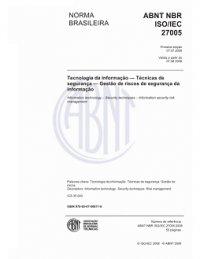 ABNT NBR ISO/IEC 27005