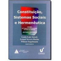 Constituição, Sistemas Sociais e Hermenкutica