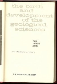 the birth and development of geological science