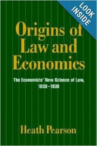 Origins of Law and Economics