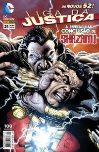 Liga da Justiça Nє 21 (Os Novos 52!)