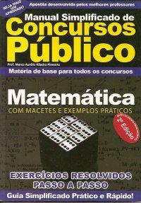 Manual Simplificado de Concursos P�blico Matem�tica