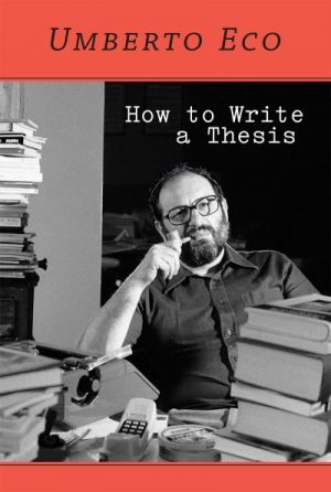 Hot to write a thesis